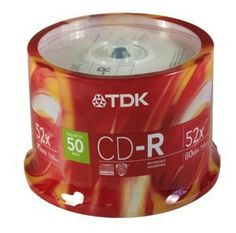 Disc CD-R 80 min 700MB branded 52X 50pk Spindle by TDK. $34.18. Disc CD-R 80 min 700MB branded 52X 50pk Spindle