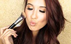 How To Cream Highlight & Contour....easy instructions on how to contour and highlight with cream makeup!