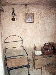 A typical room in the shelters