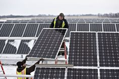Now here's a turn of events I didn't quite see coming this early. Fossil fuel's getting left in the energy race thanks to renewables (like solar).
