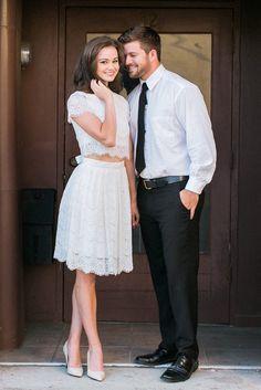 Darling Eyelash Lace Pleated Skirt - White
