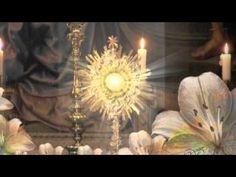 Esta la noche callada, esta la capilla sola y en el Sagrario escondido, esta Jesús hecho hostia, de noche en ese silencio, la adoratriz se postra, nada es ma...