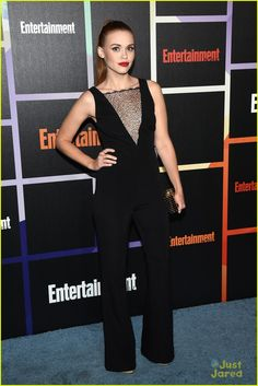 Holland Roden at EW's Comic-Con Party 2014