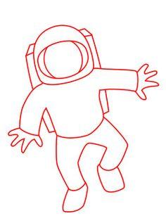 astronaut hat template - photo #24