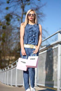 Trendy, Overalls, Pants, Fashion, Moda, Trousers, Fashion Styles, Women's Pants, Jumpsuits