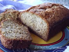 Living the Gourmet: ~ Quick and Delicious Banana Bread ~