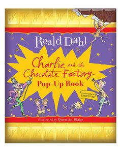 """Penguin Group """"Charlie & The Chocolate Factory"""" Pop-Up Book"""