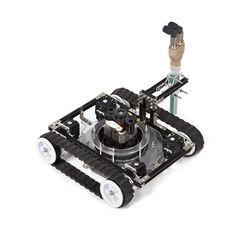 Vacuum Robot | Minibuilders by IaaC |  http://robots.iaac.net
