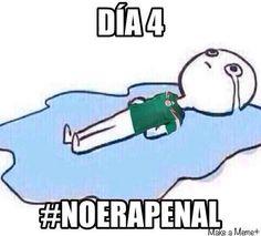 Día 4 #NoEraPenal  #MundialBrasil2014