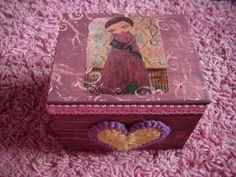 Items similar to The Cat Lover - mixed media big wooden art box/jewelry case/pancil case/cards case/memorabilia/keepsake by a Pink Dreamer on Etsy Wooden Art Box, Jewelry Case, Box Art, Trinket Boxes, Special Gifts, The Dreamers, Cat Lovers, Mixed Media, Decorative Boxes