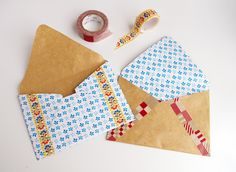 DIY envelope by Chez Violette