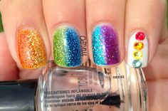Amazing Nail Art with My Favorite Things collection by  Jen from My Nail Polish Obsession ♥
