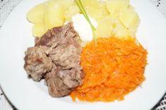 Recepty vhodné pro jaterní dietu Gnocchi, Pot Roast, Beef, Ethnic Recipes, Food, Diet, Carne Asada, Meat, Roast Beef