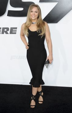Ronda Rousey – Furious 7 Premiere in Hollywood, Ronda Rousey latest photos Ronda Rousey Mma, Ronda Rousy, Rowdy Ronda, Ufc Women, Raw Women's Champion, Wrestling Divas, Wwe Womens, Female Athletes, In Hollywood
