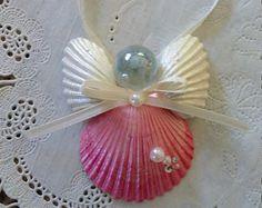 30 - Homemade Seashell Angel Ornament