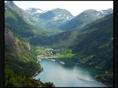 The Geiranger fjord is a fjord in the Sunnmore region, located in the southernmost part of the county Møre og Romsdal in Norway. Great Places, Places To See, Beautiful World, Beautiful Places, Norway House, Citation Force, Norway Nature, Norway Spruce, Norway Fjords
