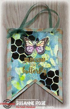 Susanne Rose - Papierkleckse: Blossom like a Butterfly