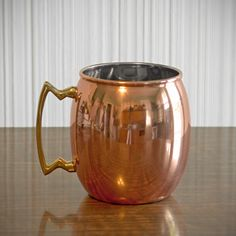I've never had a Moscow Mule, But I'll get this mug and give it a try.