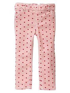 Printed cord leggings | Gap 4T