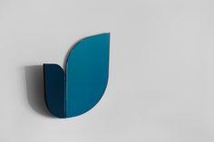 Perho blue mirror by Katriina Nuutinen, 2016.