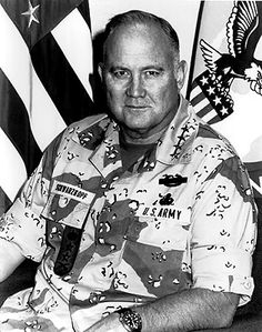 NORMAN SCHWARZKOPF (U.S. Army General, served as the Commander of U.S. Central Command and the commander of coalition forces during the Gulf War, died on December 27, 2012 from pneumonia at the age of 78)
