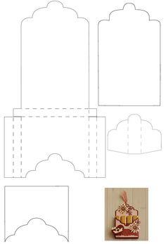 Best Origami Bag Pattern Templates I - Diy Crafts Paper Box Template, Card Templates, Origami Templates, Diy Gift Box, Diy Box, Gift Boxes, Origami Bag, Useful Origami, Box Patterns