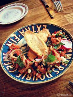 Tartare de saumon - Ludger restaurant - Saint-Henri - Montréal