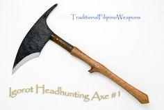 Filipino Igorot Tribal Head Hunting Axe #1