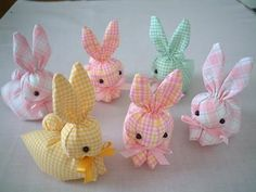 洗濯はさみが入った ウサちゃんを作ろう Fabric Crafts, Sewing Crafts, Hand Embroidery Stitches, Animal Crafts, Cute Dolls, Balloon Decorations, Shower Gifts, Handicraft, Diy And Crafts
