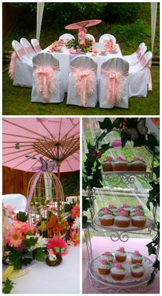 Party♥ Little Girls Tea Party. Make her feel special with this beautiful, oh so girly tea party!