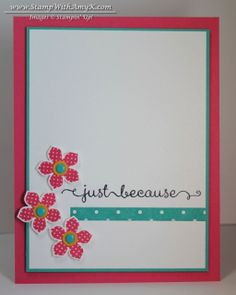 Petite Petals Just Because Card & New Weekly Deals from Stampin' Up!