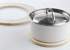 Design Fürs Heim | Puzzle Trivet Birch Hot Plate | Est Magazine