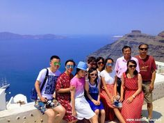 Santorini sightseeing tours: a private tour with your own guide in a luxury minibus. Sightseeing in Santorini. Santorini Tours, Santorini Greece, Shore Excursions, Holiday Time, Stunning View, Day Tours, Confirmation, Great Places, Touring