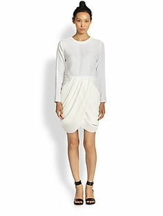 Saks 5th Avenue - A.L.C. Tolan Draped Dress - 0478587710887 ($495.00)