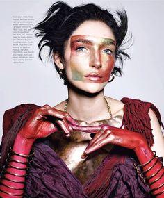 Janice Alida by Richard Burbridge for Harper's Bazaar March 2014