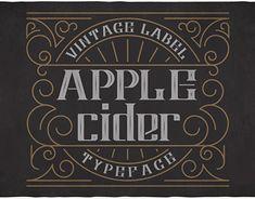 FREE Apple Cider Typeface