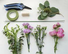 Цветочный мастер-класс: материалы