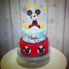 Mickey cake, la pequeña pastelería de mamá