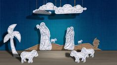 Puppet theater for Allianz Poland by Jamel Interactive. Animated Christmas Eve scene presented by the puppet theater.