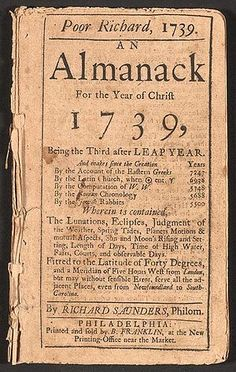 Poor Richards Almanac quotes from Benjamin Franklin. Poor Richards Almanac quotes from Benjamin Franklin. Nancy Reagan, Ronald Reagan, Benjamin Franklin, American Literature, American History, Poor Richard's Almanack, Richard Saunders, The 39 Clues, Colonial America