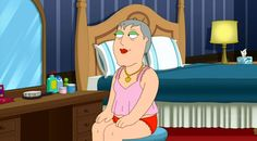 "Christ returns in the Family Guy Christmas episode ""The 2000-Year-Old Virgin."" At least one person gets lucky on Christmas. Stewie (MacFarlane) is disappointed when he unwraps his Christmas gift from his stuffed teddy bear Rupert. He expects a necklace and instead finds a music CD. Stewie cries and wonders who Rupert bought the necklace for. The scene cuts to Mayor Adam West dressed in drag as he puts on the jewelry.  http://l7world.com/2014/12/jesus-naughty-family-guy-christmas-episode.html"