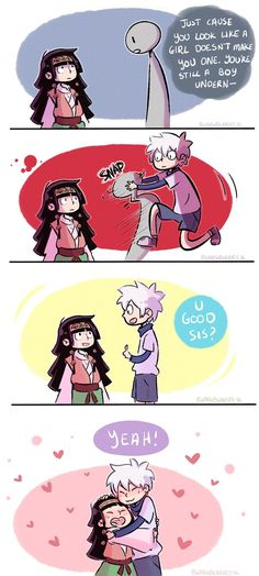 Killua and Alluka Zoldyck