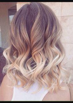 Carmel to Ombré Hair