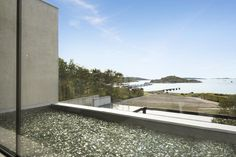 Modern Home in Sweden Accessing Stunning Sea Views and Rocky Hillscapes - http://freshome.com/2014/11/06/modern-home-in-sweden-accessing-stunning-sea-views-and-rocky-hillscapes/