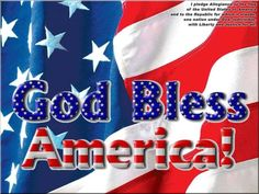 MAY OUR ONE TRUE GOD the HEAVENLY FATHER BLESS the USA AGAIN!! 1776-2020, 244 YEARS USA!!