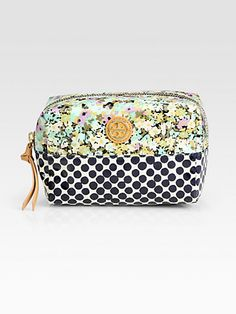 cosmetic case / tory burch