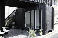 Жизнь в контейнере. Часть 9. Дом CC4441 в Torigoe, Токио