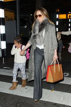 Jennifer Lopez Takes Spring Tweed Into First-Class Territory