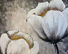 Pintura original de Arcrylic paisaje abstracto sobre por YueJinArt