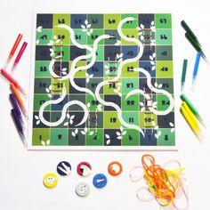 diy board games snakes before